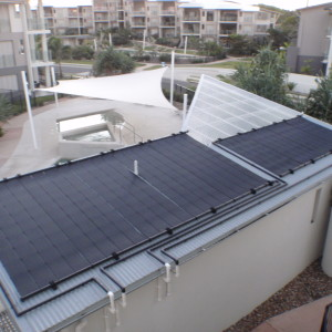 Strata Units Swimming Pool Heliocol Solar Heating