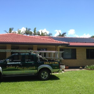 Residential Heliocol Installation on Terracotta Roof