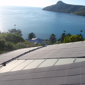 Unusual Conical Roof with Heliocol Solar Panels