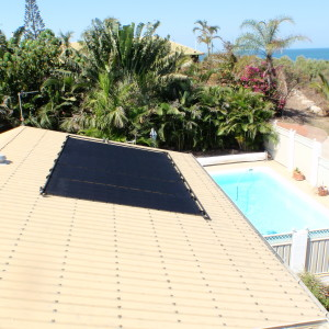 Heliocol Solar Heating Installation - Black Panels