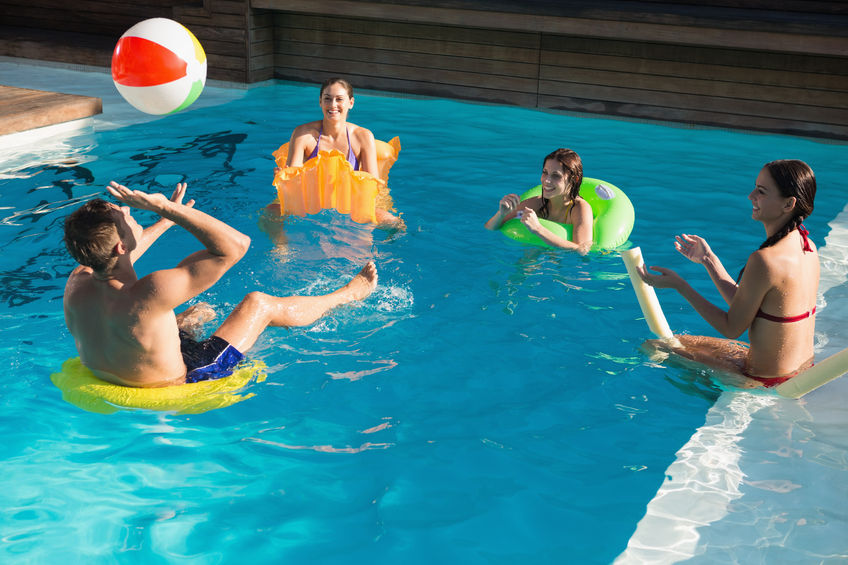 Heliocol Whitsundays Volley ball pool games